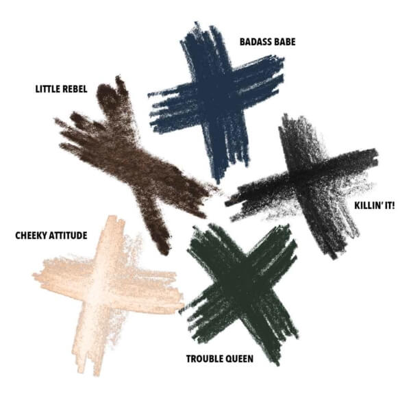 Kajal Group Swatches